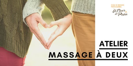 Atelier de massage à 2 tickets