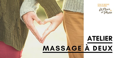 Atelier de massage à 2 billets
