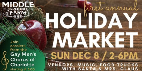 Holiday Market at Middle Ground Farm tickets