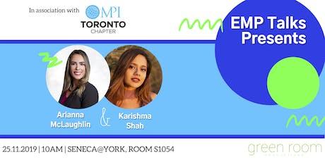 EMP Talks with Karishma Shah and Arianna McLaughlin tickets