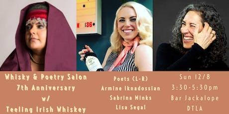 Whisky & Poetry Salon ~ 7th Anniversary at Bar Jackalope DTLA tickets
