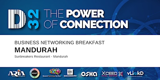 District32 Business Networking Perth – Mandurah - Fri 31st Jan