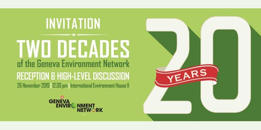 High-Level Discussion - Placing Environment on the Highest Political Agenda