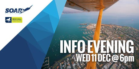 Soar Aviation Sydney - 2020 Course Info Session tickets