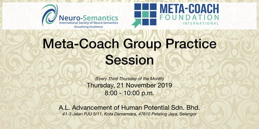 Meta-Coach Group Practice Session - November 2019