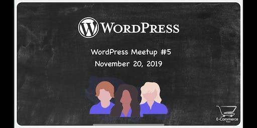 Alabama WordPress Meetup #5