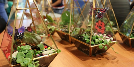 Terrarium Workshop - Grow your Strong (Age 8+) tickets