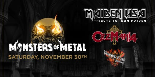 Monsters of Metal Tribute to Iron Maiden x Ozzy Osborne x Judah Priest