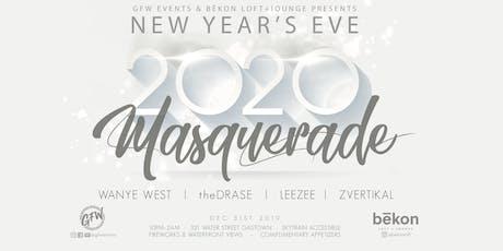 GFW NYE 2020:  Masquerade tickets
