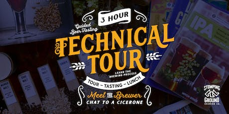 Stomping Ground Brewery 3-hour Technical Tour tickets