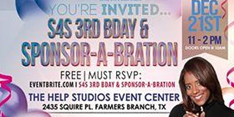 S4S 3rd BDay: Brunch & Sponsor-a-bration tickets