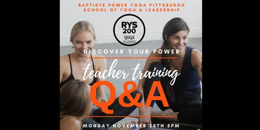 Teacher Training Q&A - Baptiste Power Yoga