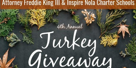 4th Annual Thanksgiving Turkey Giveaway tickets