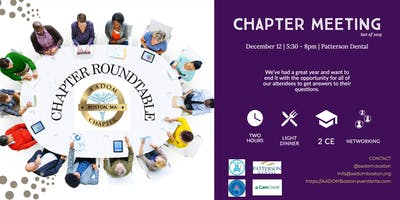 Chapter Round Table and Networking Event