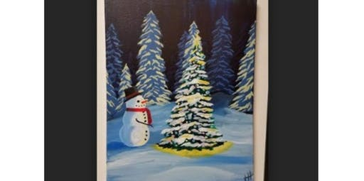 Snowman Christmas Tree (12-22-2019 starts at 4:00 PM)