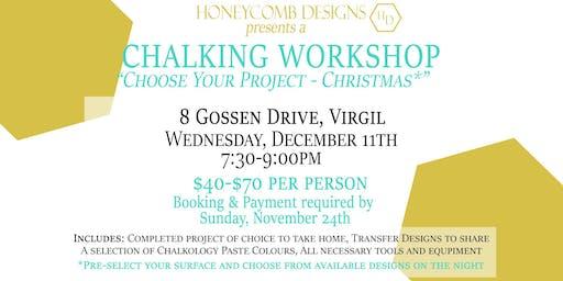 Chalking Workshop - Christmas