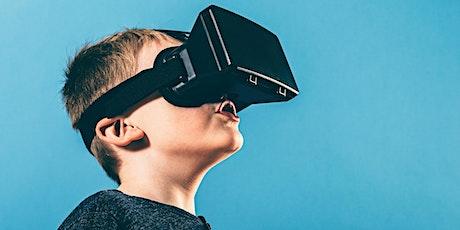 School Holiday Fun: Virtual Reality Space (6-12yrs) tickets