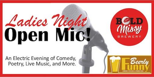 Ladies Night Open Mic - Comedy, Music & Spoken Word