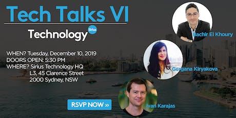 Sirius Tech Talks VI tickets