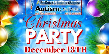 Autism Ontario Sudbury Chapter Christmas Party tickets