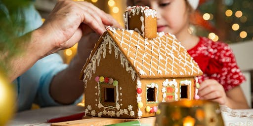 Gingerbread House Building