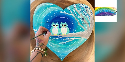 Winter Owls: Glen Burnie, Champs Pizza & Subs with Artist Katie Detrich!