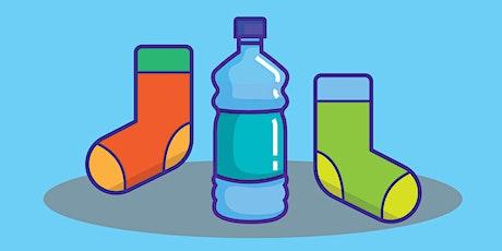 Make your own water bottle holder - Heathcote tickets