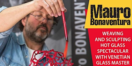 Twilight Flames: glass weaving and sculpting spectacular tickets