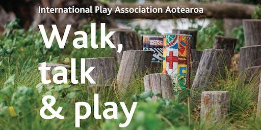 Walk, talk and play