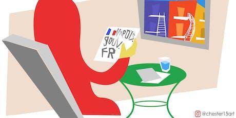 Conférence: Les impôts des français au Québec tickets