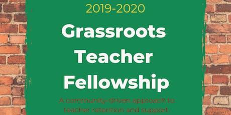 Grassroots Teacher Fellowship: Sharing Our Gifts tickets
