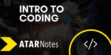 Intro to Coding | Short Course | ATAR Notes tickets