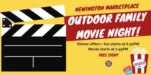 Outdoor Movie Night | Newington Marketplace