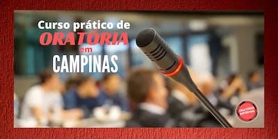 Curso treinamento de oratória em Campinas