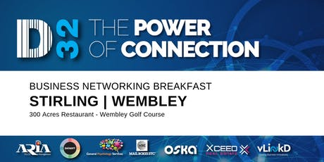 District32 Business Networking Perth – Stirling (Wembley) - Tue 17th Mar tickets
