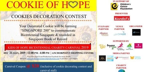 KIDS OF HOPE BICENTENNIAL CHARITY CARNIVAL 2019 tickets