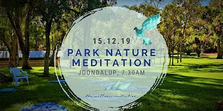 Park Nature Meditation tickets