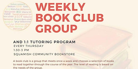 Weekly Book Club tickets