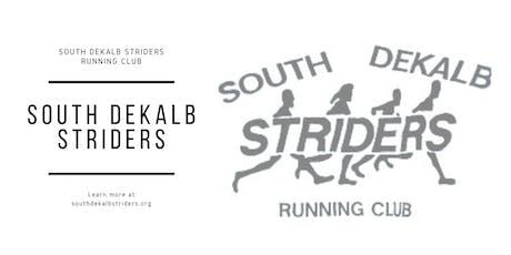 South DeKalb Striders Morning Run tickets