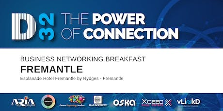District32 Business Networking Perth – Fremantle - Wed 04th Mar tickets