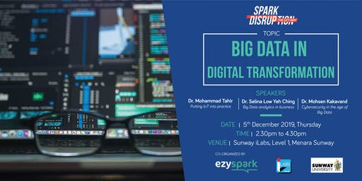 Spark disruption the Ezy-Way 2.0 - Big Data in Digital Transformation