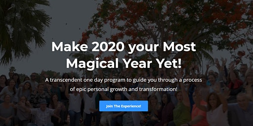 BE 2.0: Create 2020 As Your Most Magical Year Ever!
