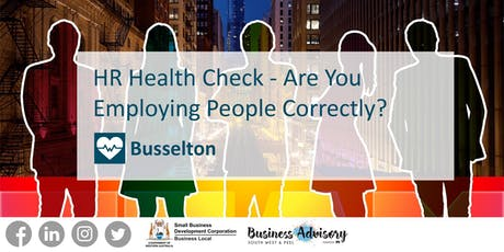 HR Health Check - Are You Employing People Correctly? tickets