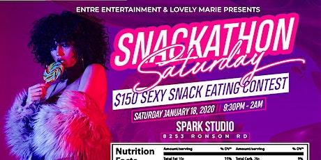 Snackathon Saturday tickets