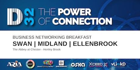 District32 Business Networking Perth – Swan / Midland / Ellenbrook - Fri 24th Jan tickets