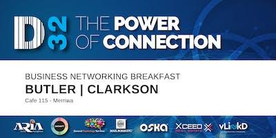 District32 Business Networking Perth – Clarkson / Butler / Perth - Fri 07th Feb