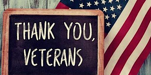 Free veterans social/dinner event
