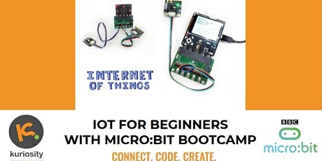 IoT with micro:bit for Beginners: 2-Day Bootcamp, 16 & 17 Jan 2020 tickets