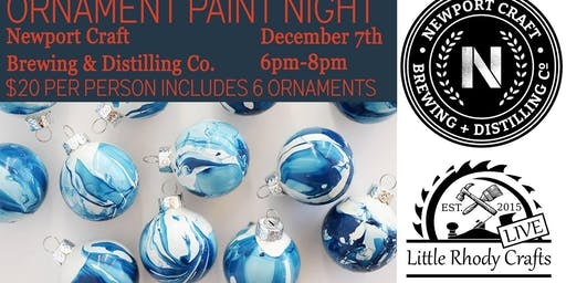 Ornament paint night