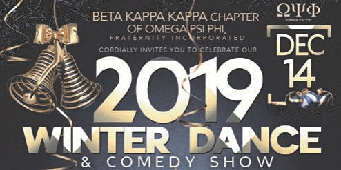Omega Psi Phi Fraternity, Inc Holiday Party 2019